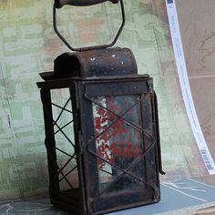 vintage lantern... Dec 10 by CoolVintage on Etsy, $44.50