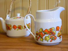 Hey, I found this really awesome Etsy listing at https://www.etsy.com/listing/167055814/vintage-takahashi-mushroom-teapot-and