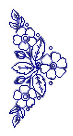 Cross Stitch Boarders, Cross Stitch Angels, Cross Stitch Rose, Cross Stitch Flowers, Chain Stitch, Cross Stitch Designs, Cross Stitching, Cross Stitch Embroidery, Hand Embroidery