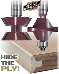 Katana Edge Banding Router Bits. I need s set of these. They would be awesome to add to collection.