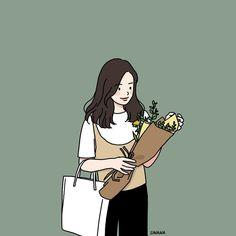 Drawing art girl artworks 22 Ideas for 2019 Cute Art Styles, Cartoon Art Styles, Aesthetic Drawing, Aesthetic Art, Cover Wattpad, Cute Couple Art, Couple Ideas, Cartoon Kunst, Dibujos Cute