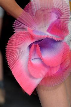 Julien Fournie, Haute Couture, Spring Summer 2012, Details,