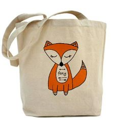 Francesca Fox tote bag by Munchie and Me