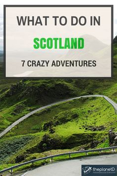 Scotland travel.