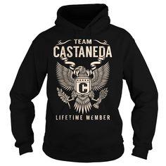 (New Tshirt Great) Team CASTANEDA Lifetime Member Last Name Surname T-Shirt Coupon Today Hoodies, Funny Tee Shirts