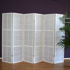 Mostafa 6 Panel Room Divider World Menagerie Ikea Room Divider, Folding Screen Room Divider, Bamboo Room Divider, Panel Room Divider, Mystery Room, Marble Room, Door Dividers, Decorative Room Dividers, Room Partition Designs