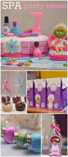 """Little spa / Birthday """"Spa party para festejar los 7 añitos de Vale """""""