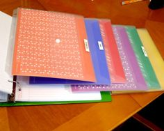 """Organize school work and getting homework done - """"Making it home from school with the assignments written down and the correct books in their backpack may seem simple to us, but it is actually a huge task for a child with ADHD."""" One tip is to use color coding."""