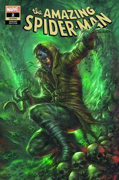 The Amazing Spider-Man #2 (2018) ComicXposure Exclusive Variant Cover by Lucio Parrillo