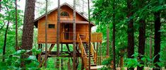 3. Treehouse Cottages (Eureka Springs)