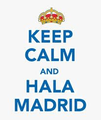 keep calm real madrid -