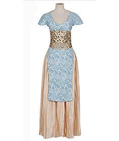 Daenerys Targaryen Cosplay Costume Blue Dress