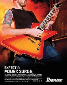 #Ibanez Destroyer #Guitar