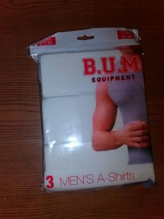 8f82f8cba707 Men's BUM Equipment 3 Pack A Shirts-Small-60% Cotton 40% Polyester #fashion  #clothing #shoes #accessories #mensclothing #underwear (ebay link)