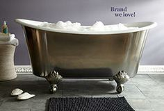 Best in Bath: Waterworks - Love these classic baths