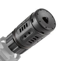 Dead Air Armament Pyro Enhanced Muzzle Brake AR15 Black