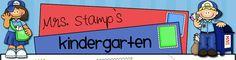 Mrs. Stamp's Kindergarten.. self-explanatory!