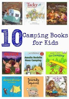 15 Camping Themed Activities for Kids || The Chirping Moms