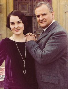 Lady Mary and Lord Crawley