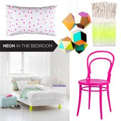 On the Blog: Neon in the Bedroom