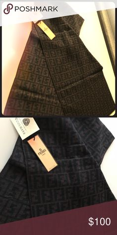 Fendi Scarf Brand New with tags Fendi Accessories Scarves & Wraps