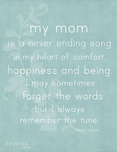 ...Sending Love To Heaven Just For You Mom....