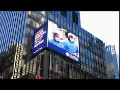 Years ago, my eye doctor (!) made content shown on a video billboard in Times Square. Imagine how much fun it was to show him one I'd written and designed! Eye Doctor, Billboard, Times Square, Content, World, Videos, Youtube, Fun, Poster Wall