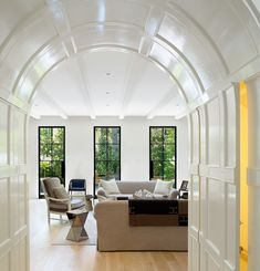 Steel windows and doors - what I've learned - Lindsay Hill Interiors Architecture Details, Interior Architecture, Interior Design, Steel Doors And Windows, Barrel Ceiling, Home Design Magazines, Hill Interiors, Greenwich Village, Architect Design