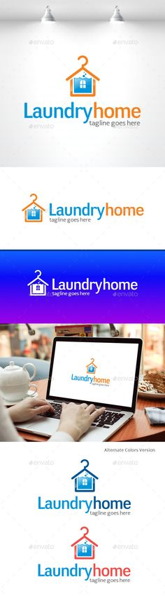 Laundry Home Logo by irmarosdalina Description: �20AI file