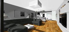Návrh interiéru 4+KK Central Park Praha, v realizaci... návrh: http://www.interiorstudio.cz/