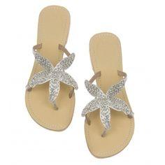 Starfish Silver Sandal