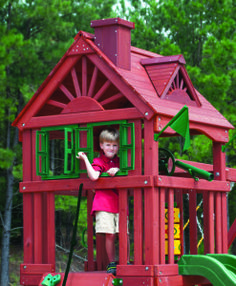 Wooden Play Sets | Residential | Total Playgrounds