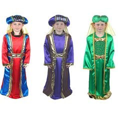 Deluxe Wise Man Costume  Come bearing gifts as one of the three Wise Men in this simpleWise Men costume that focuses on the reason for season. This Wise Men Costume is perfect for any church pageant, school play or Nativity Scene