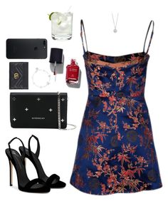 """Untitled #1895"" by nillarunfelt ❤ liked on Polyvore featuring Giuseppe Zanotti, Givenchy, Chanel, SOPHIE by SOPHIE and Gucci"