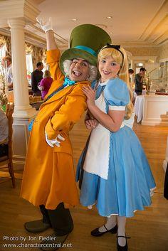 Alice in Wonderland & the Mad Hatter