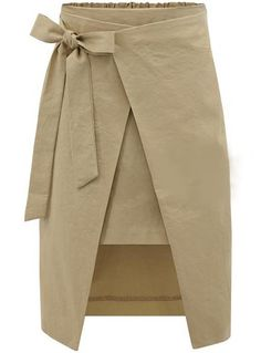 Irregular Patchwork Split Bowknot High Waist Knee Length Skirt Informations Abo. Irregular Patchwork Split Bowknot High Waist Knee Length Skirt Informations About Irregular Patchw Bow Skirt, Khaki Skirt, Sexy Skirt, Midi Skirt, Beige Skirt, Draped Skirt, Dress Skirt, Grey Fashion, Fashion Outfits