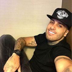 Nicky Jam.  Nick Rivera Caminero.  Born 3-17-81. Singer and songwriter