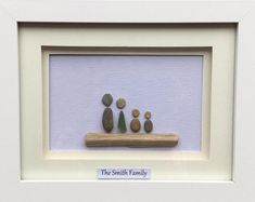 Items similar to Pebble Art pictures, Custom Made Family Portraits. Seaglass Art on Etsy Glass Wall Art, Sea Glass Art, Pebble Pictures, Art Pictures, Nursery Wall Decor, Wall Art Decor, 60th Birthday Cake Toppers, Family Tree With Pictures, Pebble Art Family