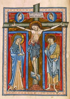 Crucifixion | Psalter | England, perhaps London | ca. 1225 | The Morgan Library & Museum