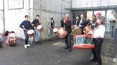 Velhos Nicolinos - Practice before James Concert - Guimaraes 28.11.2014