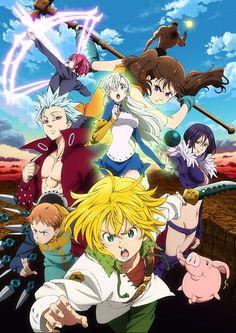 Plus d'infos sur la saison 2 de Nanatsu no Taizai