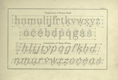 A text-book on plain lettering