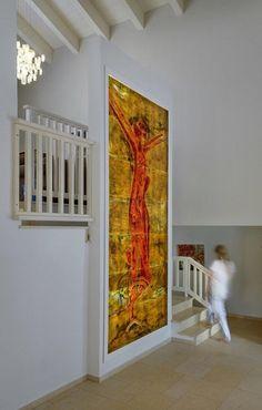 Glass Painting Stained Glass Wall Art Customize   Etsy #stainglasspanel #largewalldecor #livingroomdecor