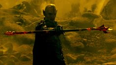 #TheShannaraChronicles The Dagda Mor after the first leaf falls from the Ellcrys.