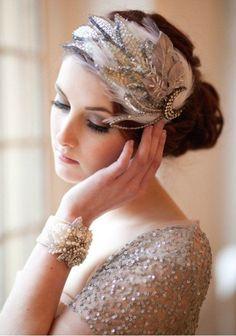 Wedding in silver color