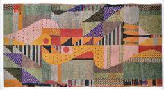 グンタ・シュテルツル(バウハウス)色彩構成を応用した織物