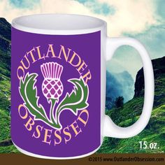 Are You Obsessed with Outlander or know someone who is? Here's their mug. Available in two sizes: 11 oz. or 15 oz. Here's a great Outlander gift for coffee and tea drinkers! These glossy mugs are made
