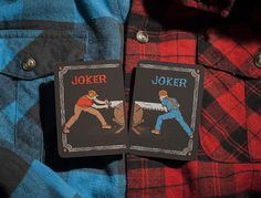The Lumberjacks 2nd Edition Playing Cards (Concept) on Packaging of the World - Creative Package Design Gallery