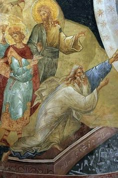 Byzantine Icons, Byzantine Art, Fresco, Christ Pantocrator, Gates Of Hell, Jesus Resurrection, Adam And Eve, Art Icon, Orthodox Icons