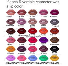 I love the Kevin ones at the bottom, and the rest are actually pretty accurate